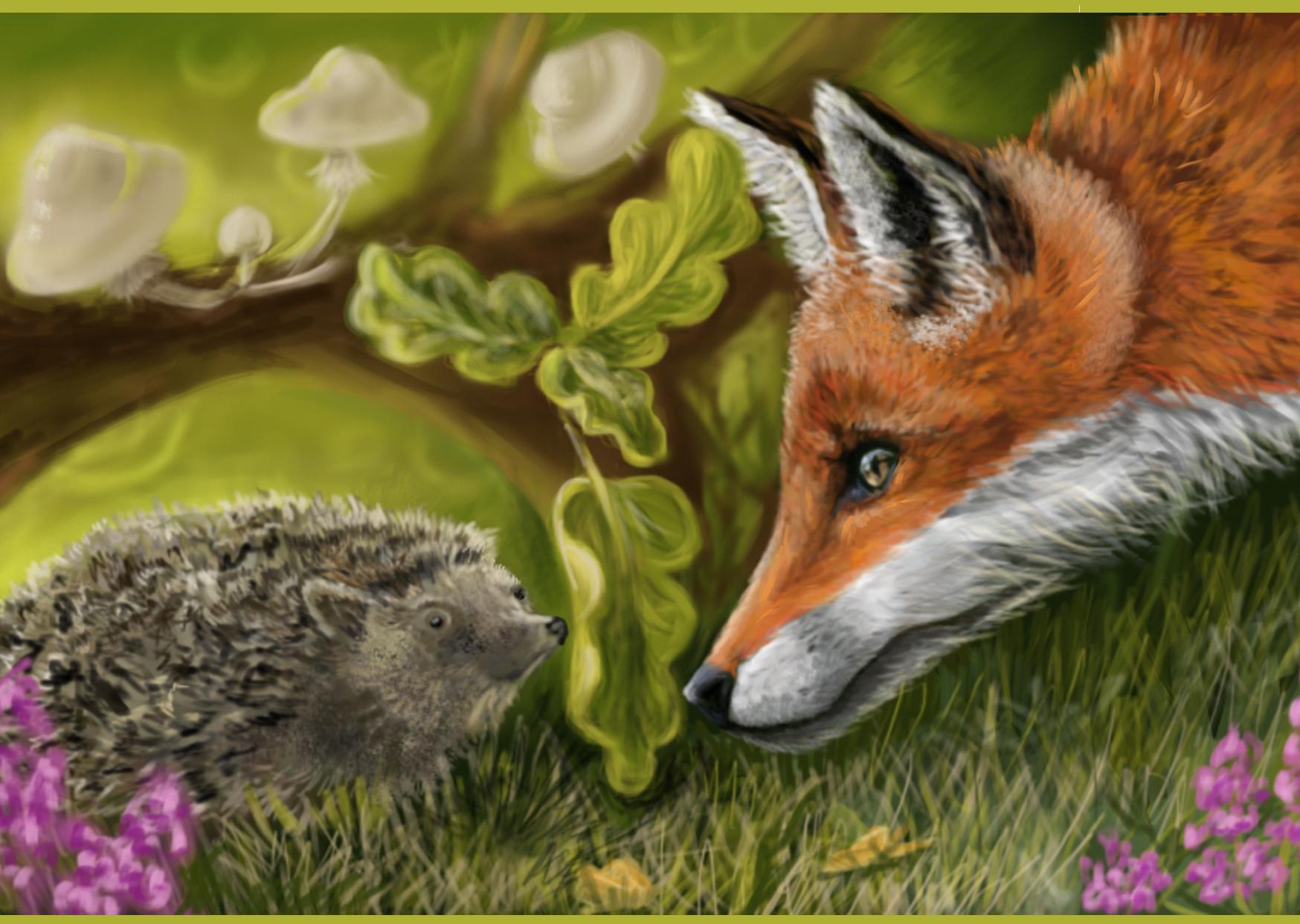 Картинки девушки, прикольные картинки про лисичку и ежика